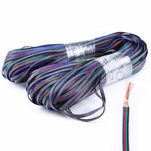 RGB-5M-10M-15M-20M-50M-100M-4-PIN-LED-STRIP-LIGHT-RGB-EXTENSION-CABLE-WIRE-CORD