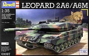 03097 Revell 1/35 Leopard 2a6 / a6m Kit
