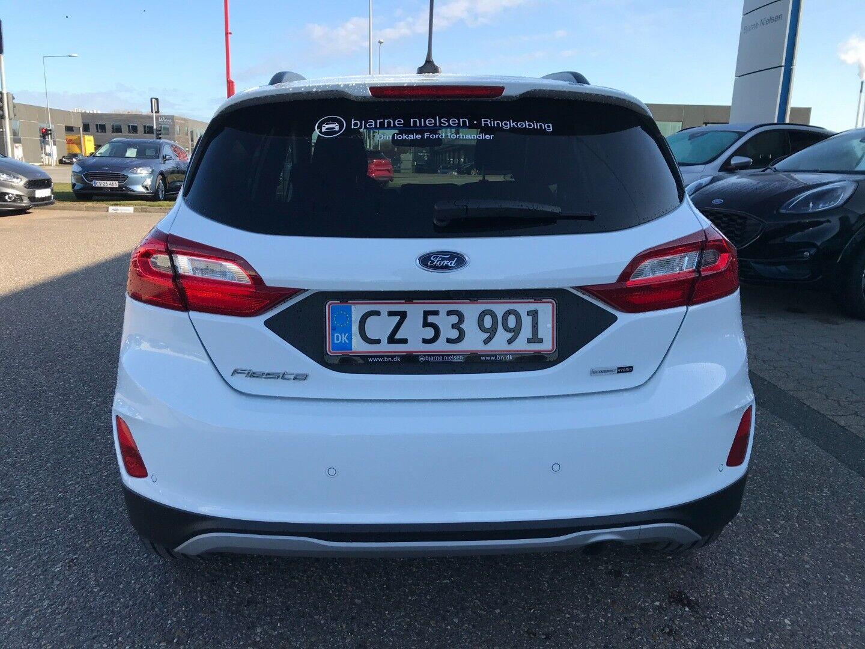 Ford Fiesta 1,0 EcoBoost mHEV Active - billede 6