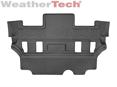 WeatherTech FloorLiners for 2021 Escalade//Suburban//Tahoe//Yukon Black Front Row