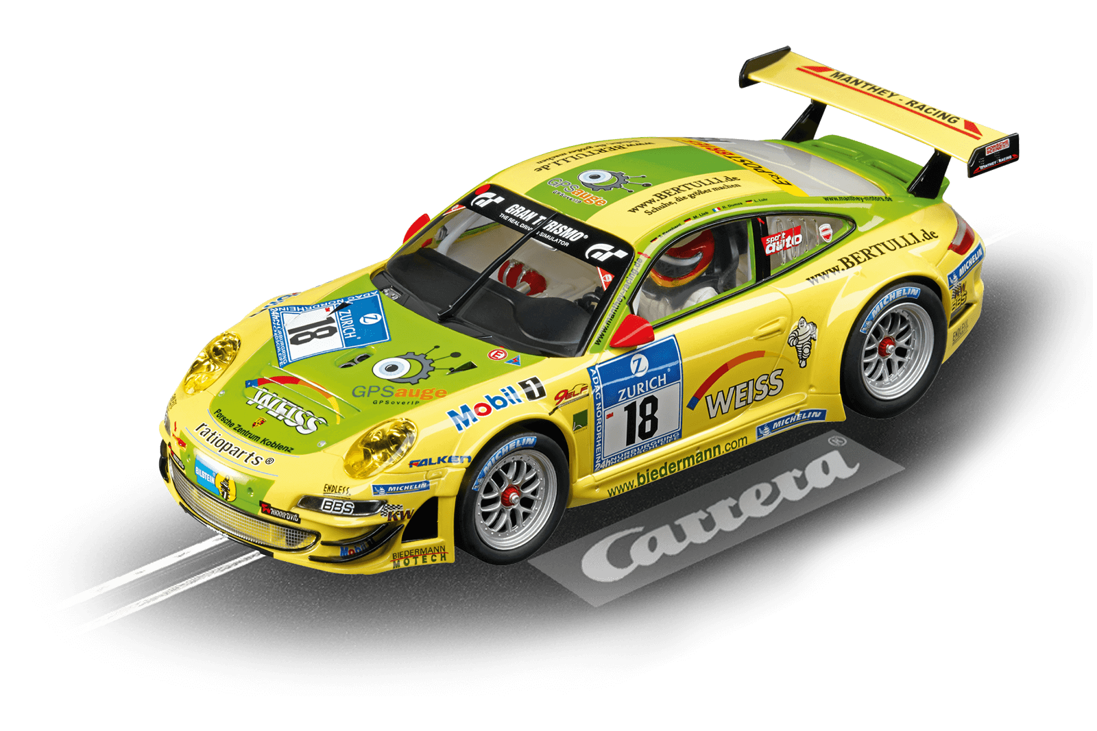 Top Tuning Carrera 124 Digitale - Porsche GT3 Rsr   Manthey No18   come 23794