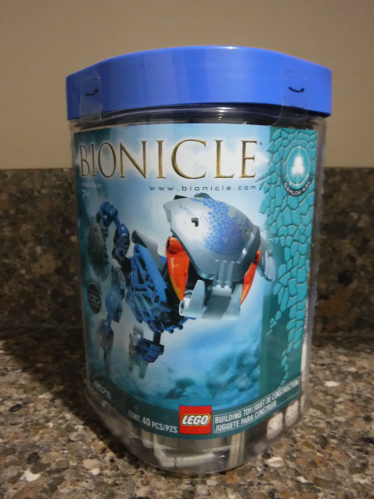Lego Bionicle Bohrok Kal Gahlok Kal  8578  Nuovo In Sealed Container