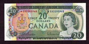 CANADA-1969-20-BEATTIE-RASMINSKY-REPLACEMENT-NOTE-SERIAL-EB2293968-GEM-UNC
