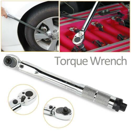 1//4 inch 5-25Nm Drive Torque Wrench Tools with Case Ratchet Socket Tool Car Bike