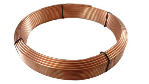 Tuyau de frein conduite tube cuivre 3//16 4,75mm au 2x 50 mètre Bonne Qualité