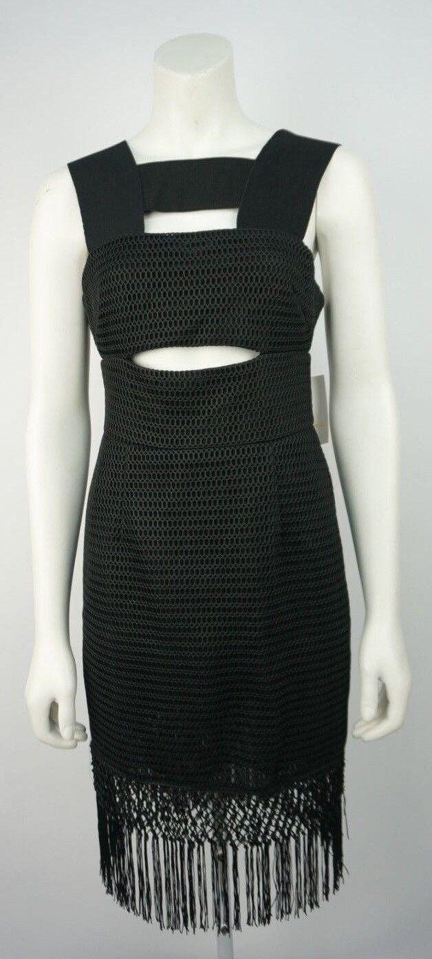 Self-Portrait Sleeveless Tassel Dress Dress Dress Size 12 BNWTS 57d322
