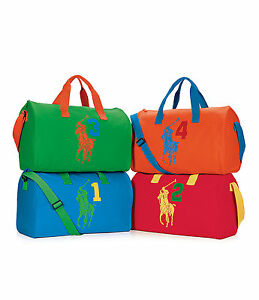 Image is loading Ralph-Lauren-Big-Pony-Duffle-Bag