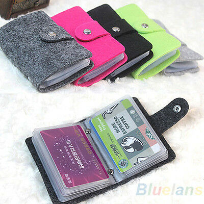Womens Retro Convenient Pouch ID Credit Card Wallet Holder Organizer BE4U