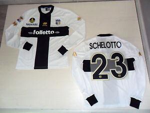 Alerte Fw13 Taille L Schelotto 23 Tricot Haut Manche Longue Match Issue Haut Jersey Dans La Douleur
