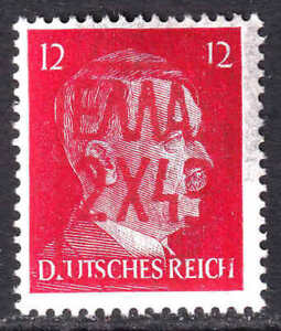 GERMANY 511B RED ZANTE (GREECE) OVERPRINT OG NH U/M F/VF BEAUTIFUL GUM