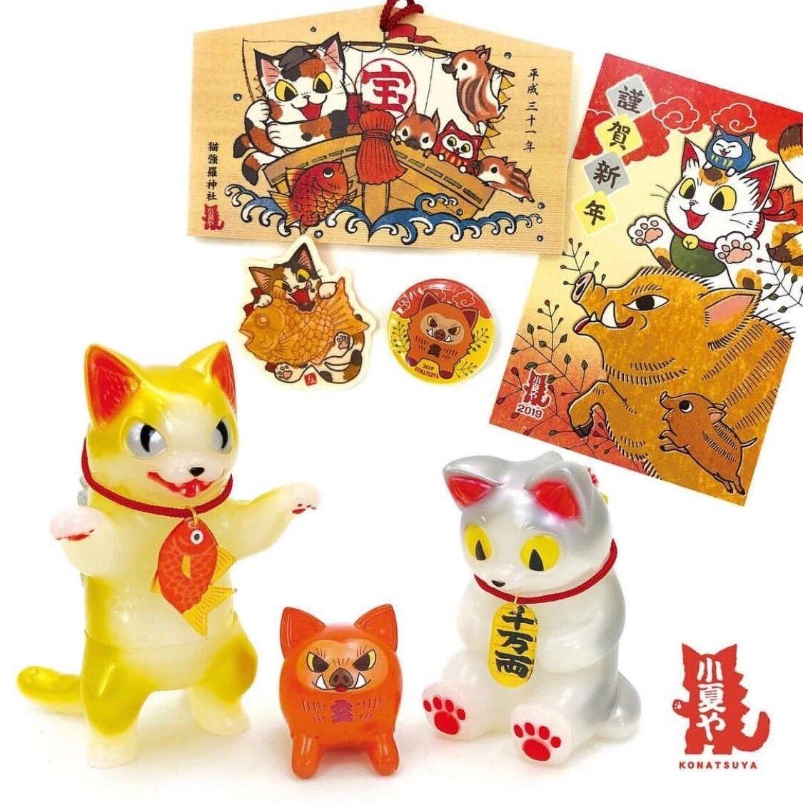 Konatsuya Konatsu nuovo  Year Happy borsa 2019 Negora Daruma Ema Post autod  ordina ora con grande sconto e consegna gratuita