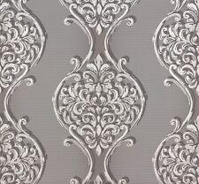 Tapete Vlies Barock grau silber Erismann Visio 6948-15 (3,14€/1qm)