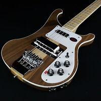 Rickenbacker 4003 Bass Guitar Walnut Satin Finish With Rickenbacker Case
