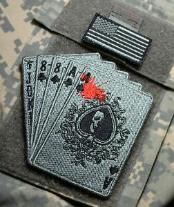 Syria-Iraq Jsoc Rangers Sfg Scellé Sp Ops Jtf Vêlkrö 2-PC : Drapeau + Deadman's
