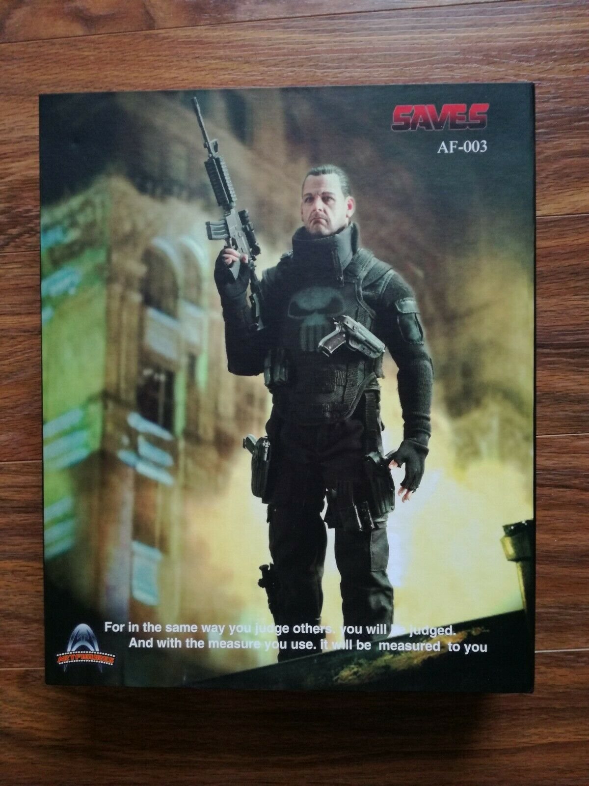 New Art Figures Saves Punisher Hot toys sideshow action figure 1 6 scale
