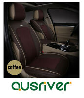 Custom Made Car Seat Cover Set Front Rear Brown For Bmw5 A4 Toyota Camry Glk300