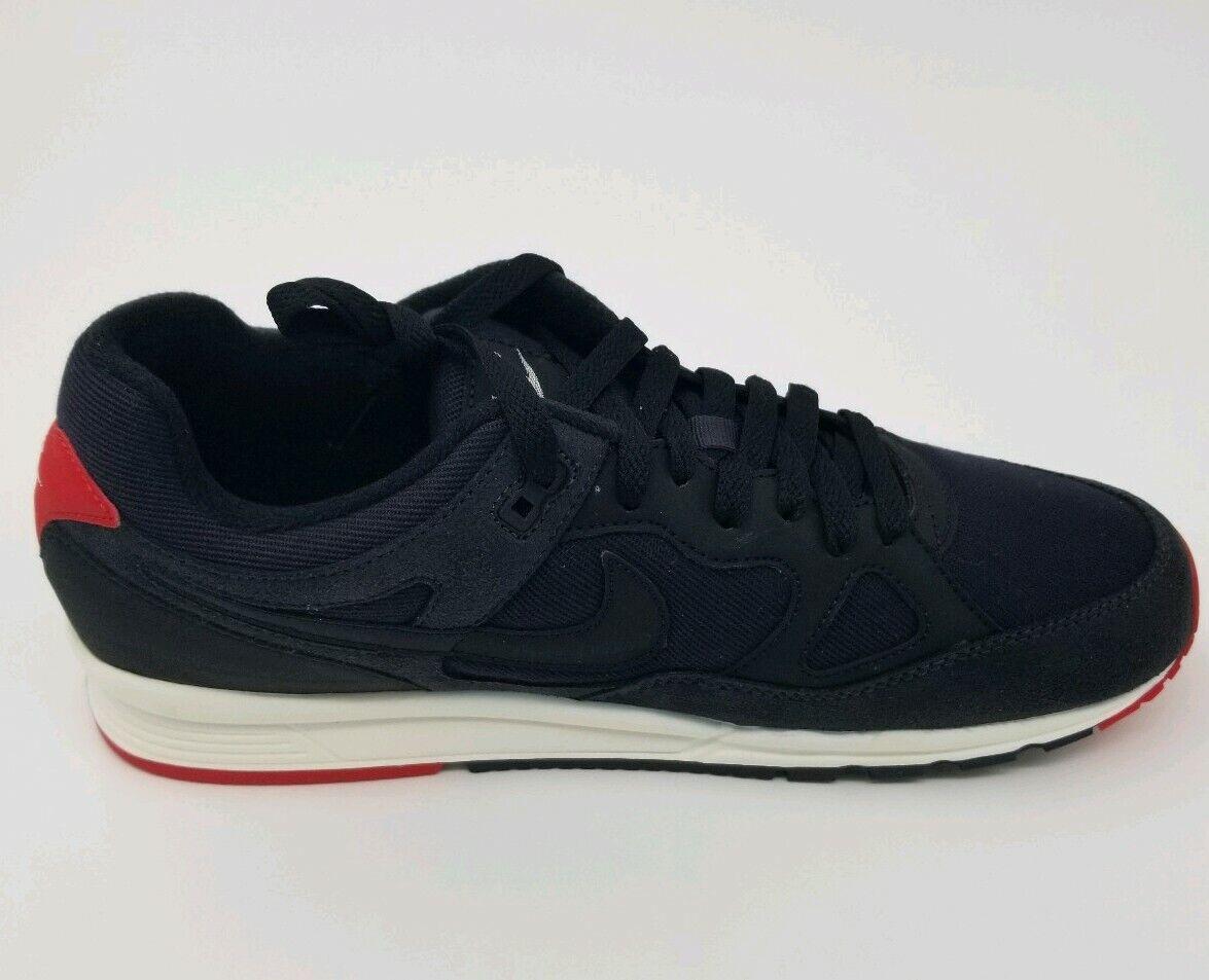 Nike Air Span II SE AQ3120-002 Black Red White sneaker Size 11