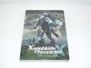 Xenoblade-Chronicles-X-Collector-039-s-Edition-Prima-Strategy-Guide-SEALED-Brand-New
