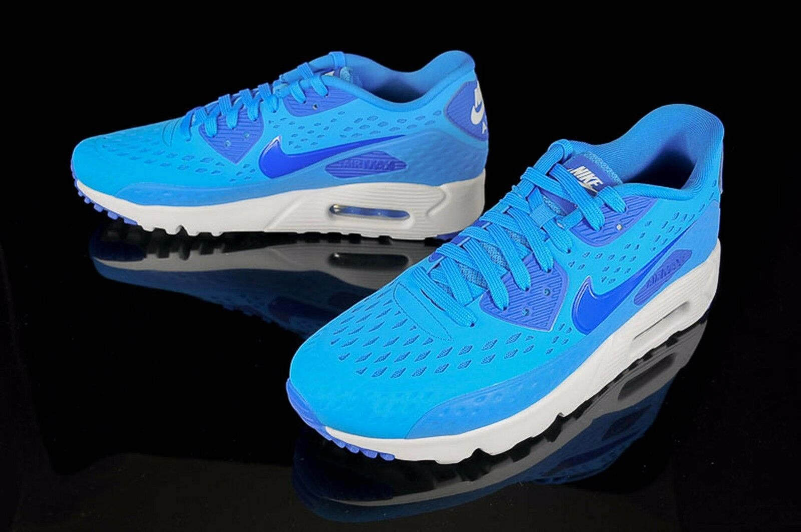 Nike Air Max 90 Ultra Br Mens size 11 725222-404 Photo Blue/Game Royal/White