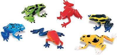 Safari 6 Pfeilgiftfrösche Rana Frog Ranas Figuras Action Figures Toys & Hobbies