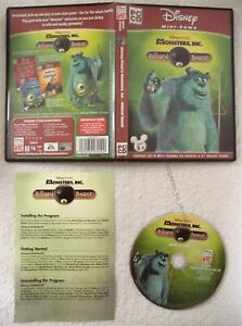 19667-Disney-Monsters-Inc-De-Billard-Beast-NEUF-PC-2002-Windows-XP
