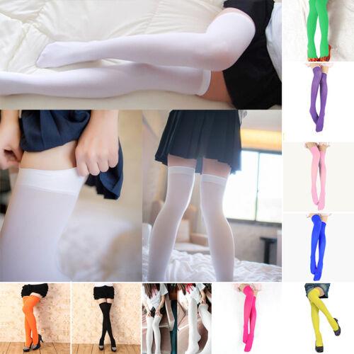 Women/'s Extra Long Boot Hosiery Socks Over Knee Thigh High School Girl Stocking