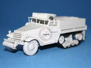 Tank workshop 1 48 m3 m3a1 half track us army personnel carrier resin