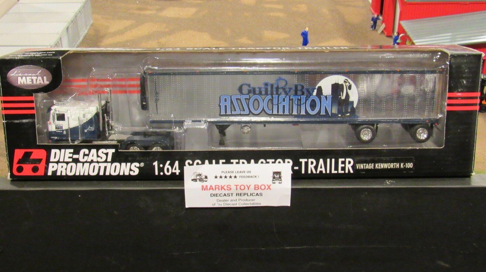 DCP 32999 CSM Chrome Shop Mafia coupable par Association KW K100 camion TRL 1 64 CL
