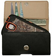 Belt Clip Holster Pouch For Samsung Galaxy S4 Otterbox Defender Case - Black