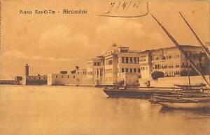 BR45858 Alexandrie palais ras el tin egypt
