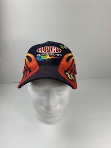 Du Pont Motorsports Nascar Racing Sports Hat Cap Strapback Blue Hendrick 24