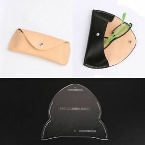 Leather Pattern DIY glasses box PDF Sweing Template Tools O-02