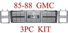 85 88 GMC Truck 3PC Grill & Head Light Door Kit, Jimmy, Suburban GM1200401