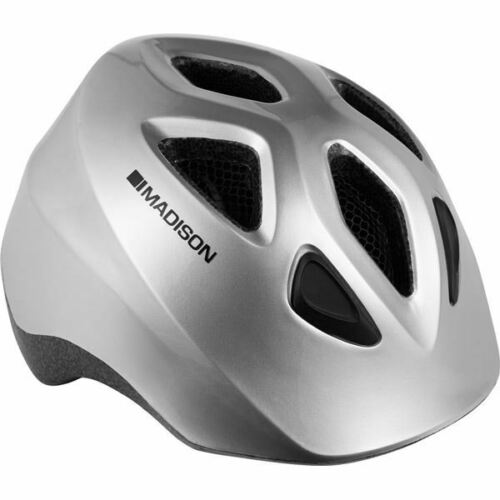 Madison Scoot helmet gloss silver grey one size