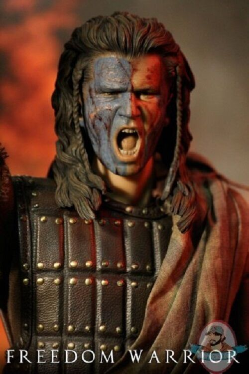1/6 Scale Scottish Freedom Warrior Screaming War War War Bloody Head Iminime 608908