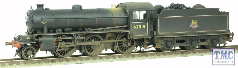 R3242 Hornby OO HO BR 2-6-0 K1 62015 BR Early with Real Coal & Weatherot by TMC