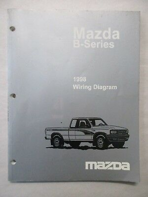 1998    MAZDA       B      SERIES       TRUCK    ELECTRICAL WIRING    DIAGRAMS