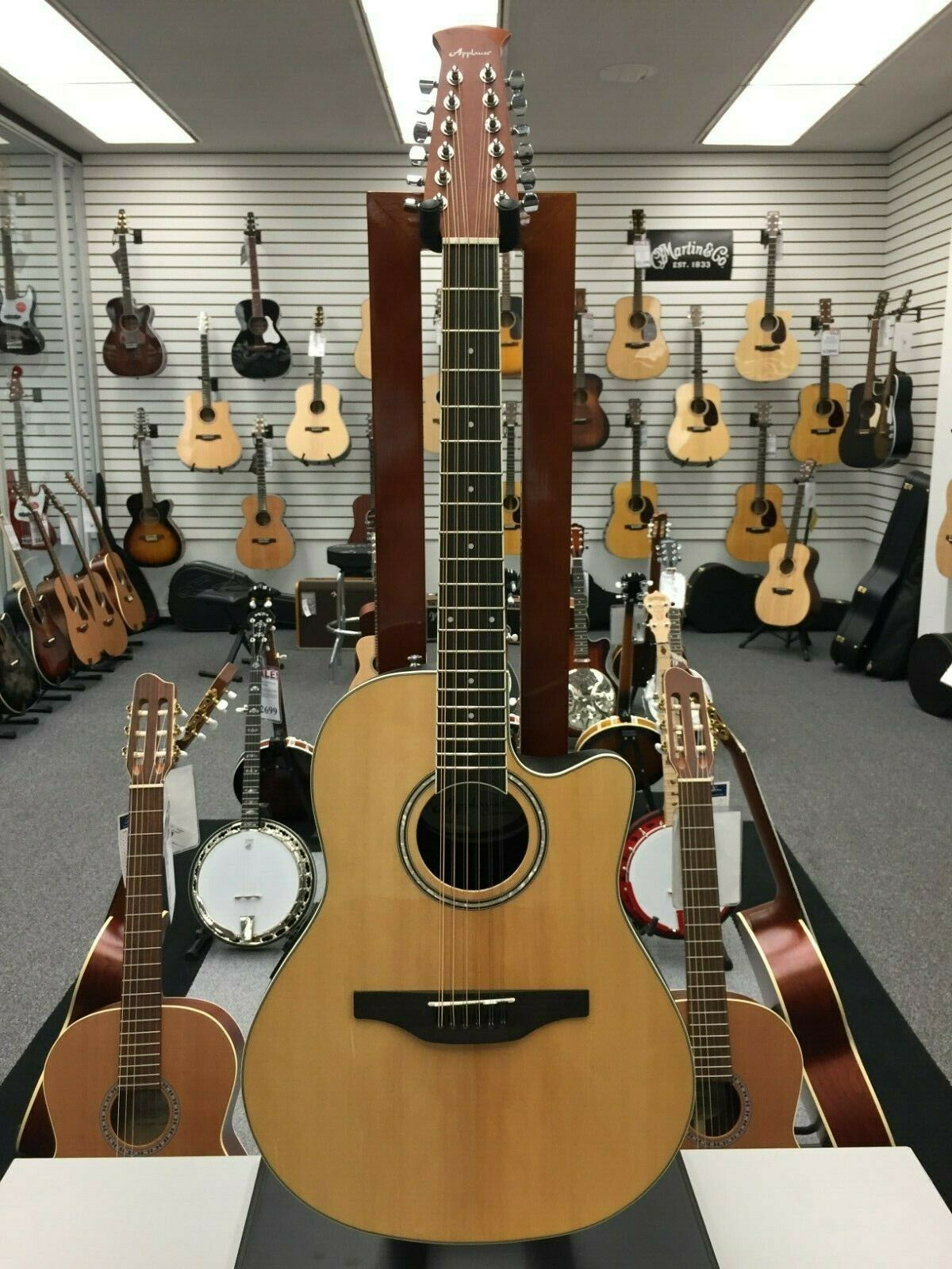 Applause Standard 12 String Acoustic Natural Spruce