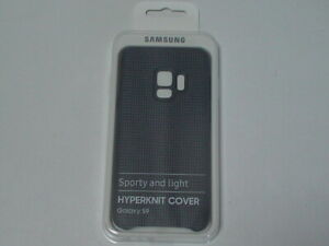 Original-Samsung-Galaxy-S9-HyperKnit-Cover-Schutzhuelle-grau-fuer-EF-GG960FJEGWW