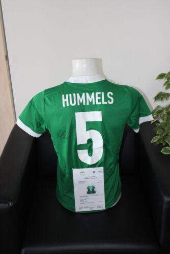 164 DFB Bayern München FCB Mats Hummels signiert Deutschland Trikot
