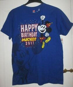 Image Is Loading Disney Parks 2017 HAPPY BIRTHDAY Mickey Mouse Adult
