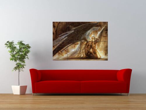 FALLEN ANGEL FUTURISTIC WINGS COOL GIANT ART PRINT PANEL POSTER NOR0001
