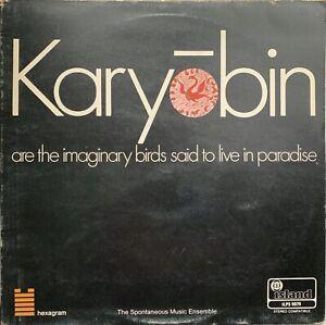 THE-SPONTANEOUS-MUSIC-ENSEMBLE-Karyobin-VINYL-LP-Original-1968-Island-1st