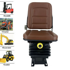Universal Forklift Slidable Seat Tractor Seat Suspension Seat Steel Frame Pu