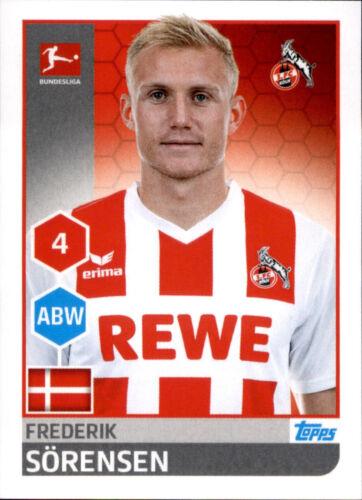 Frederik Sörensen Sticker 144 TOPPS Bundesliga 2017//2018
