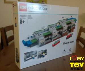 Adroit In Stock - Lego 2000451 Education The Panama Canal (2016) - Nisb / Niob Ltd. Ed.