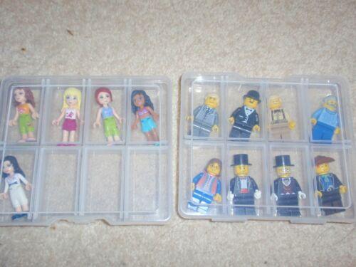 Brand new 12 Lego Minifigures storage box