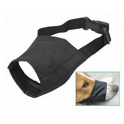 Dog Puppy Safety Rope Muzzle Adjustable Stop Biting Barking Nipping Chewing 2016
