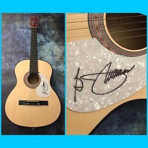 GFA Hooked on a Feeling B.J. THOMAS Signed Autograph Acoustic Guitar B4 COA