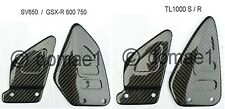 Suzuki TL1000S TL1000R  SV650  GSX-R 600 750 carbon Fersenschützer Fersenschoner